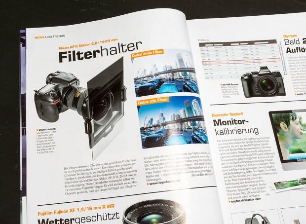 """Ausriss aus ColorFoto 6/2015, Fotos und Text: Maximilian Weinzierl"""""""